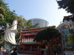 香港レパルスベイの天后廟