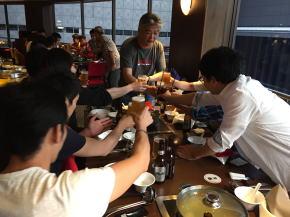 シンガポールでの夕食