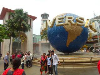 シンガポール旅行 セントーサ島