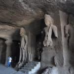 エレファンタ島の石窟寺院(ムンバイ)