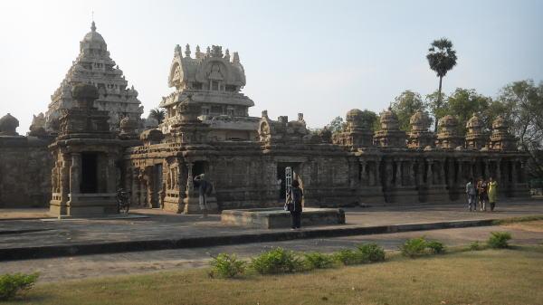 南インドの旅 カンチプラム
