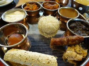 北インド料理「ターリー」