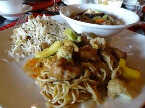 インド風の中華料理