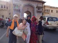 インドで国際交流