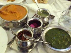 北インド コース料理