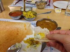 インド旅行での食事