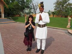インド宮殿ホテル体験記
