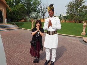 インド宮殿ホテルで女性一人旅