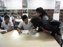 インド私立学校の学生