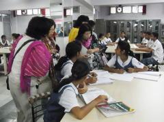 インド学生との交流