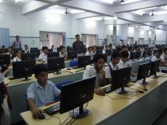 インドIT授業の視察