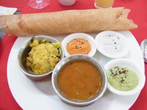 南インドの朝食
