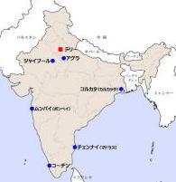 インド略図