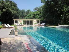 ジャイプール宮殿ホテルのプール