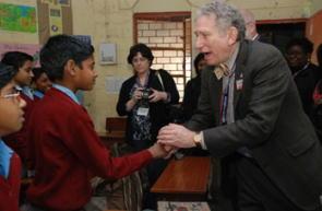 インド小学校訪問