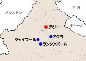 ランタンボール地図