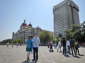 ムンバイのタージマハルホテル