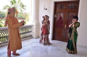家族そろってインド衣装