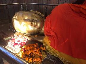 仏跡クシナガル涅槃仏