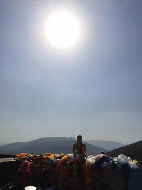 仏教遺跡ラージキル霊鷲山