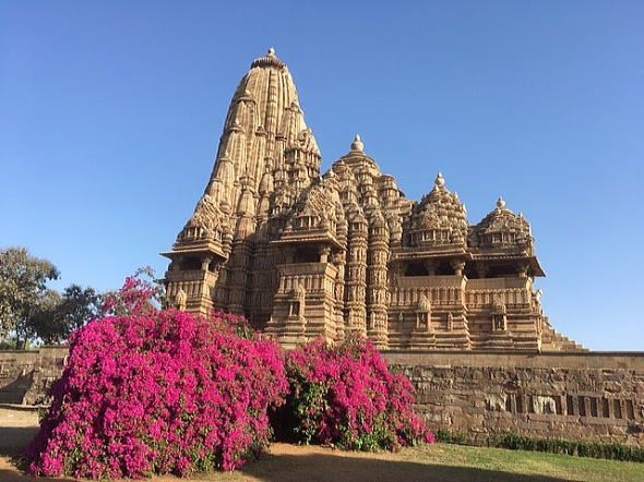 インド旅行カジュラホ