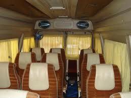 インド車マイクロバス座席