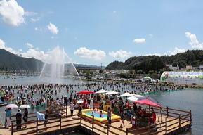 正南津長興水祭り