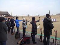華城錬武台での国弓体験
