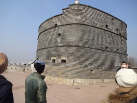 水原華城 見張り台