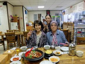 済州名物太刀魚料理で舌鼓