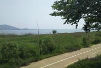 白村江の戦い跡地へ