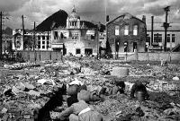 戦禍で荒廃したソウル市街
