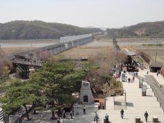 臨津閣公園と自由の橋