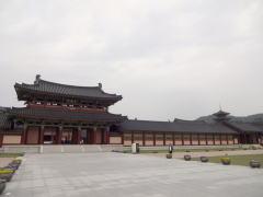 百済文化団地 歴史再現村