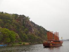 白馬江遊覧船