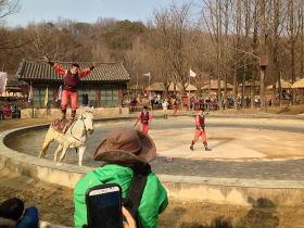 韓国民俗村 伝統武芸