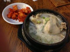 韓国料理夏のおすすめ 参鶏湯