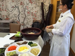 静江園 伝統食文化体験