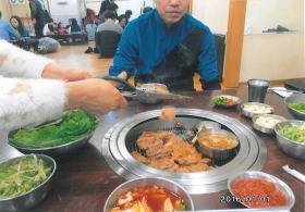 ソウルの豚カルビ