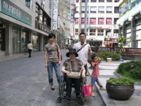 家族写真 ソウルにて