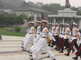 ソウル青瓦台前 軍隊パレード