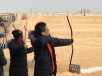 伝統弓体験