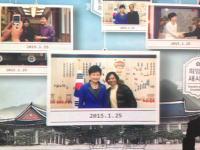 朴槿恵大統領と記念撮影?