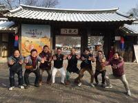 本場の韓国料理。グルメ慰安旅行