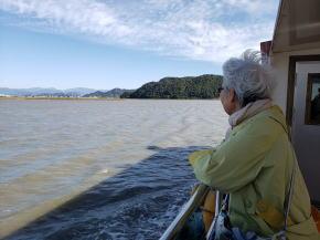 順天湿地帯観光船から