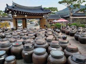 淳昌 コチュジャンの甕