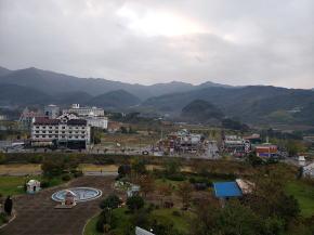 ホテルからの風景