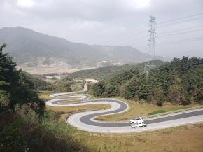 韓国で一番美しい道