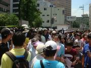 ソウル・日本大使館 水曜デモ