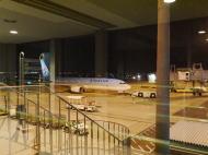 関西空港 夜出発